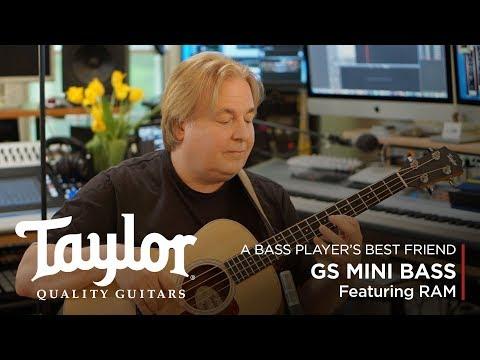 GS Mini Bass Guitar   A Bass Player's Best Friend   Taylor Guitars
