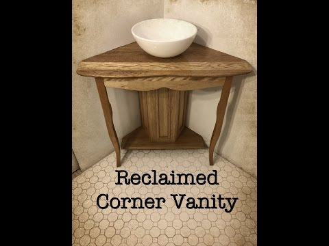 Reclaimed Corner Vanity