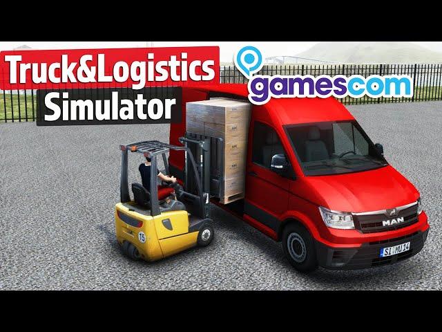 Truck & Logistics Simulator İlk Oynanış - gamescom 2019