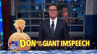 Colbert's LIVE Monologue Following Trump's 2020 State Of The Union Address
