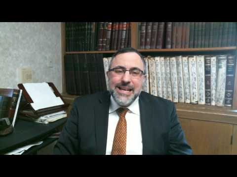 Video Vort - Yisro 5777 - Rabbi Etan Tokayer