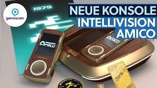 Retro und Handy zusąmmen - Intellivision Amico #gamescom2020
