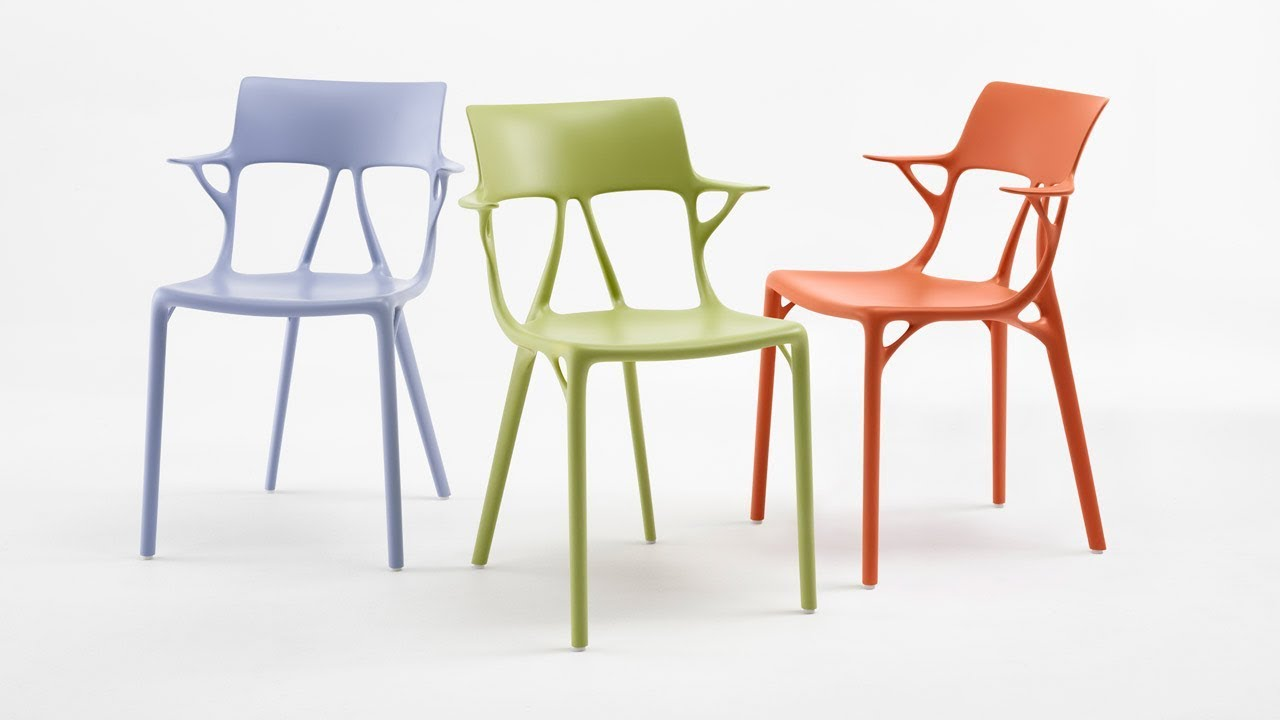 Design Stoelen Philippe Starck.Philippe Starck S A I Chair Is First Chair Designed With