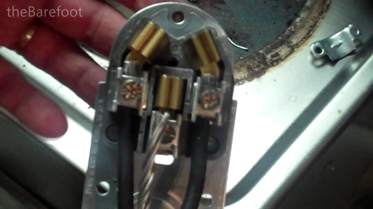 How To Wire A 3 Prong Stove Outlet | Wiring A 3 Prong 240v 50a Existing Range Outlet Removing A