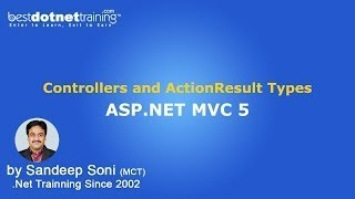ASP.Net | MVC 5 Tutorial Controllers and Action Result Types