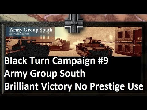 Lets Play: Unity of Command - Black Turn Campaign: Army Group South Brilliant Victory (HD)
