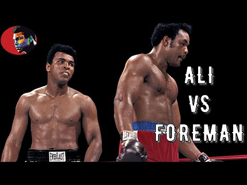 Muhammad Ali vs George Foreman #Legendary Night# HD