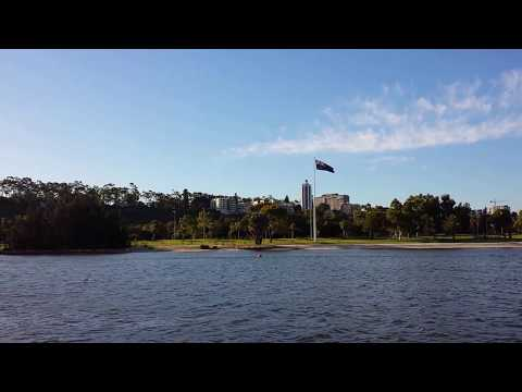 Perth from the free Swan River ferry