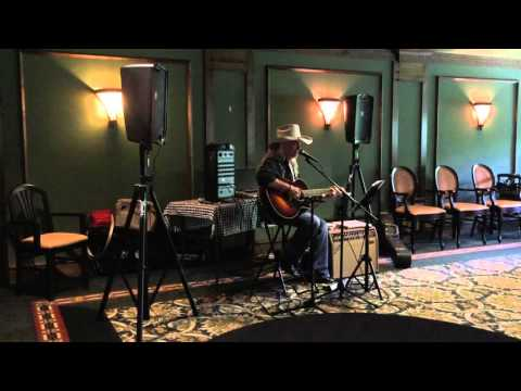 """Terry Harder singing video """"I Can't Help It"""" by Hank Williams 0948"""