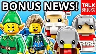 BONUS LEGO NEWS! LEGO Pop-Up Shops?! October LEGO Releases! New Video Game! LEGO CUBE! & MORE!
