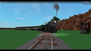 ROBLOX Grand River Scenic Railroad Train Derails