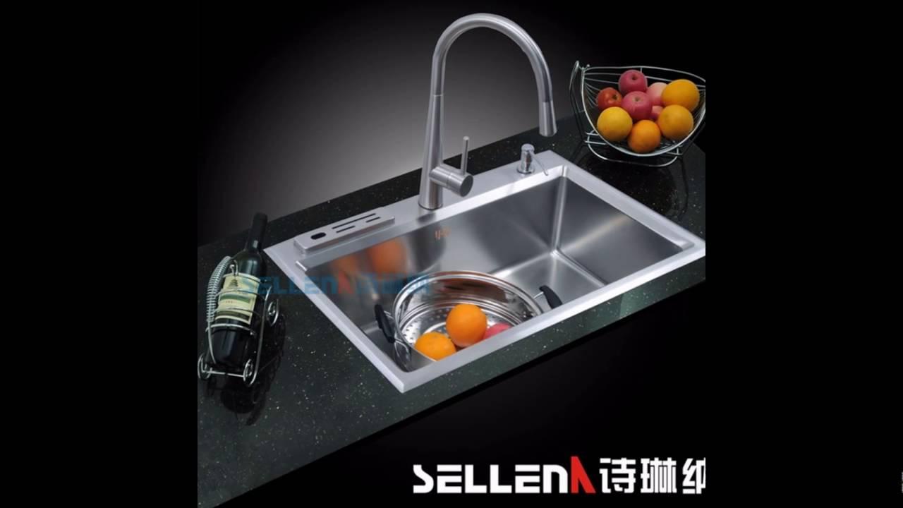 Single basin kitchen sinks youtube single basin kitchen sinks workwithnaturefo