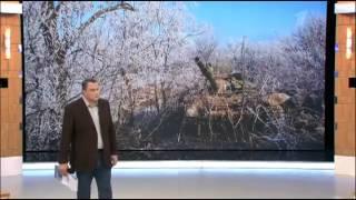 Первый канал России засветил фото Т-72Б3 в Дебальцево