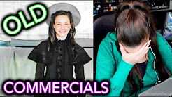 Reacting to my OLD COMMERCIALS as a child before YouTube