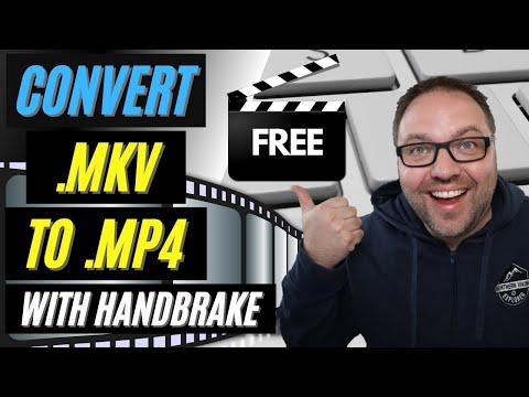 🎥 How to Convert MKV to MP4 | Free with HandBrake | MKV Converter