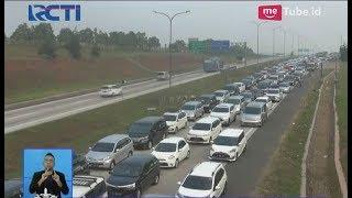 Tol Cipali Macet Parah, Antrean Kendaraan Memanjang Hingga Belasan Kilometer - SIS 12/06