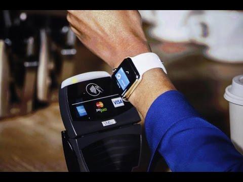 Apple Pay sur L'Apple Watch - Démonstration