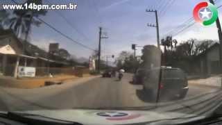 Perseguição à moto de Jaraguá do Sul à Schroeder