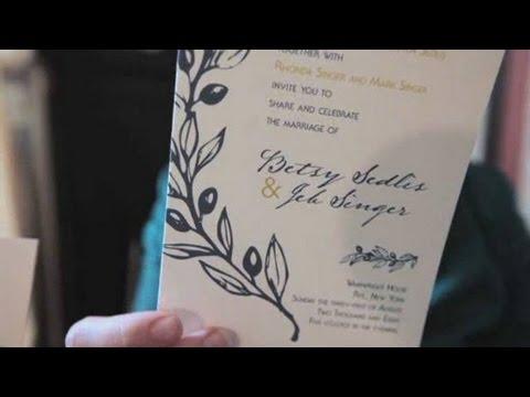4 Diffe Printing Techniques Wedding Invites