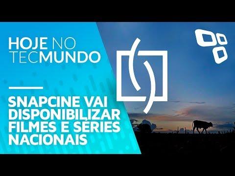 Snapcine vai disponibilizar filmes e séries nacionais - Hoje no TecMundo