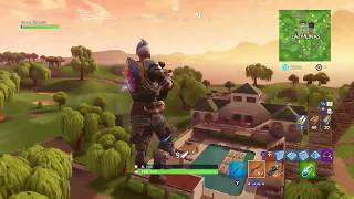Glitch/How not to take any damage from falls in royal battle/Fortnite