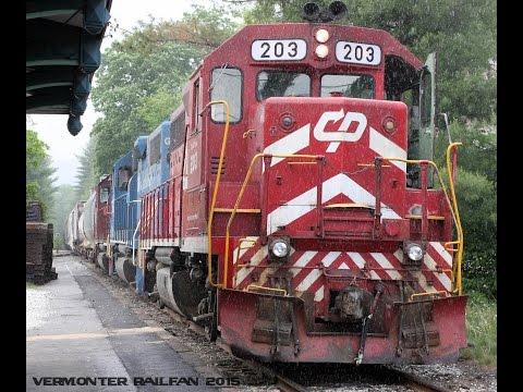 [HD] Vermont Rail System around Western Vermont