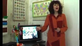 """Урок математики c """"ПеснеЗнайкой"""" у первоклассников с. Вишневое Днепропетровской области"""