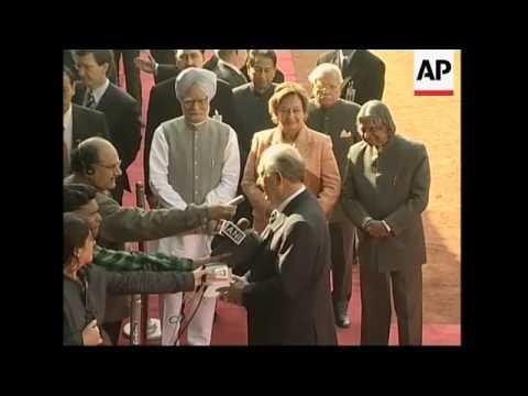 Chile President Ricardo Lagos visits India