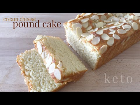 Keto Cream Cheese Pound Cake