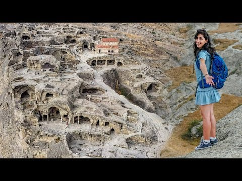 The Amazing CAVE TOWN of Uplistsikhe - Georgia Travel Vlog