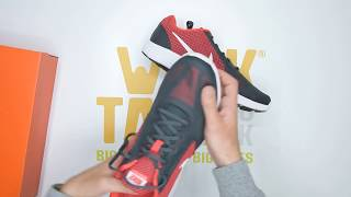 a58a4d6046 Nike Revolution 3 Running - Black Red - Unboxing