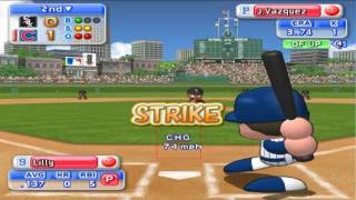 MLB Power Pros 2008 PS2 Baseball (PCSX2) 60fps