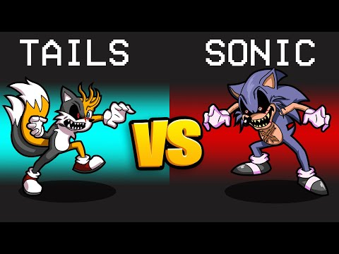 TAILS.EXE VS. SONIC.EXE Mod in Among Us...