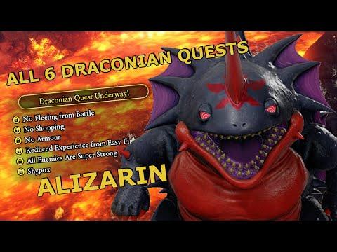 Dragon Quest 11 All Draconian Quests Alizarin