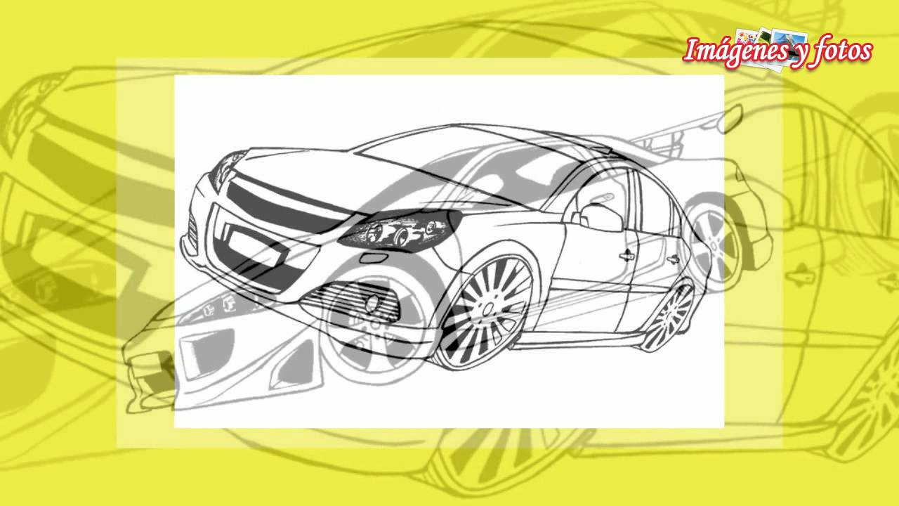 Imagenes De Carros Para Colorear: Imágenes De Carros Para Colorear