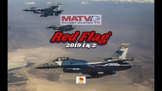 U.S. Air Force Exercise Red Flag 2019. Highlights with F-16 in-cockpit GoPro footage.