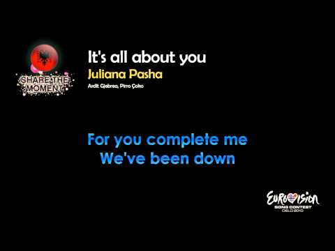 "Juliana Pasha - ""It's All About You"" (Albania) - [Instrumental version]"