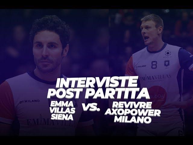 Intervista a Maruotti e Gladyr post Milano