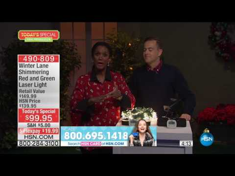 HSN | Deck the Halls featuring Winter Lane Decor 11.02.2016 - 08 PM