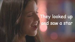 Glee - The First Noël (Lyrics) HD