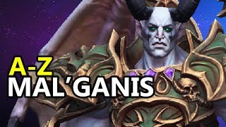 ♥ A - Z Mal'Ganis - Heroes of the Storm (HotS Gameplay)