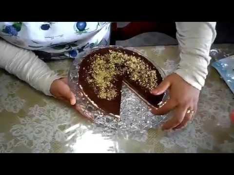 تشيز كيك بالشوكولاتة مثلجة Frozen fromage au chocolat - Cheesecake المطبخ التونسي - Tunisian Cuisine