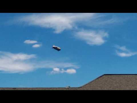 Blimping it up in Akron
