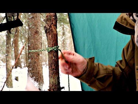 Vari nodi diversi Bushcraft, Outdoor, Camping, Survival