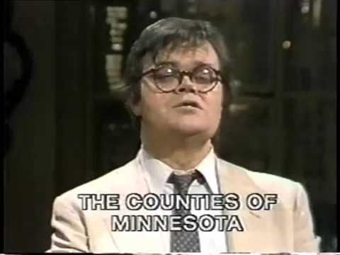 Garrison Keillor on Late Night, February 7, 1983