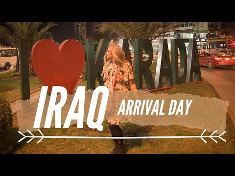 Travel to Iraq: Flying into Baghdad Airport: Can't believe what my guide said!