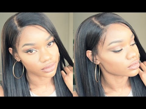 Affordable Pre Made 360 Lace Frontal Wigs 180 Density