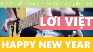 "[Remix] "" Happy New Year "" | ( Lời Việt ) | ABBA | Hướng dẫn Guitar đệm hát | JERLYBEE GUITAR"
