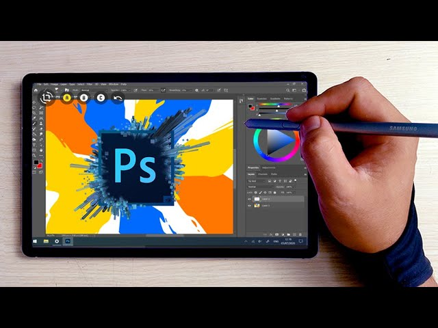 How To Draw With Adobe Photoshop Pc On Your Tab S6 Android Devices Youtube