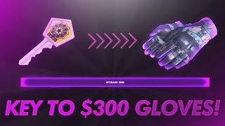 ACTUALLY GOING FROM A KEY TO 300$ GLOVES! (INSANE)